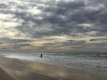 Beach at Kingscliff, NSW, Australia